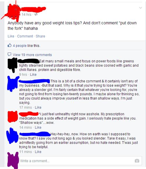 facebook weight loss - 8266777600