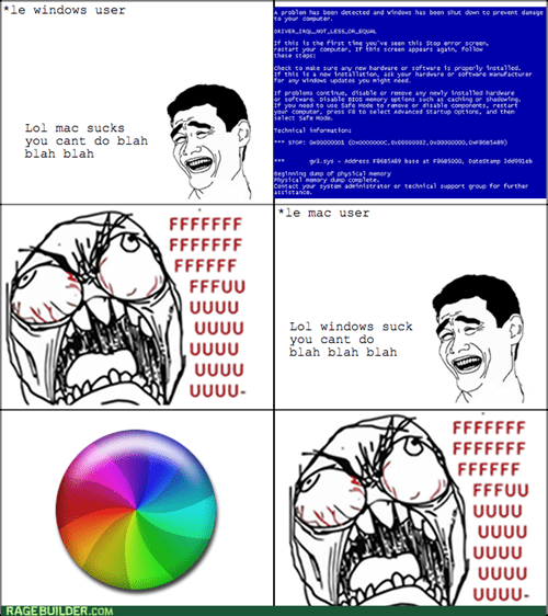 bsod,blue screen of death,mac,windows,rage
