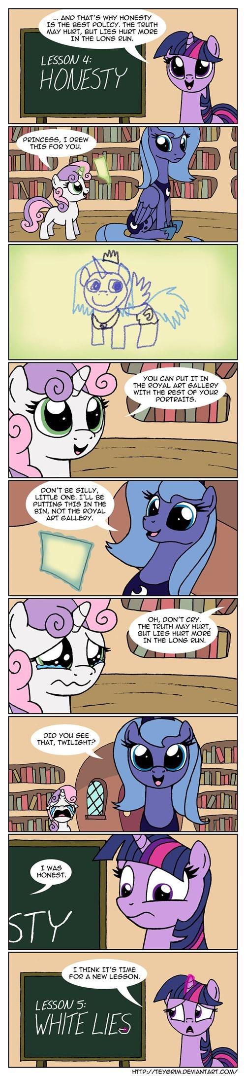 twilight sparkle princess luna web comics - 8267215616
