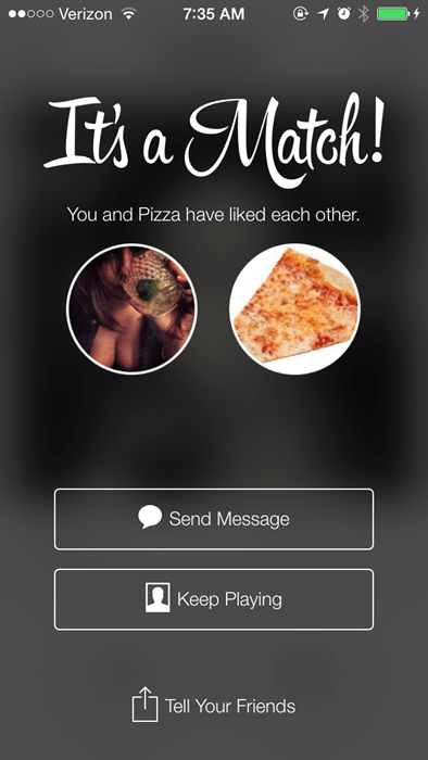 funny match online dating pizza tinder - 8267246848