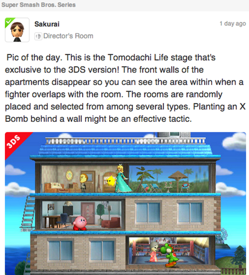3DS super smash bros tomodachi life Video Game Coverage - 8267248896