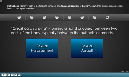 sexy times funny sexual harassment training