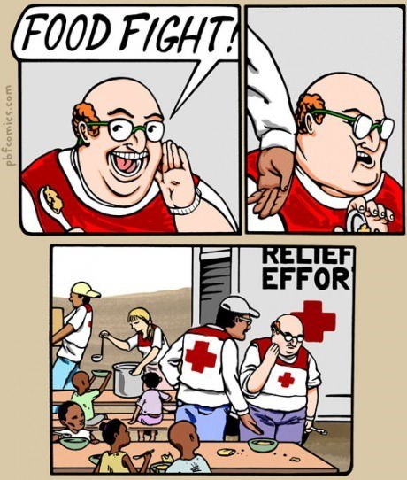 bad timing,food,food fight,web comics