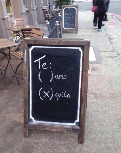 funny,sign,love,tequila,pub,after 12
