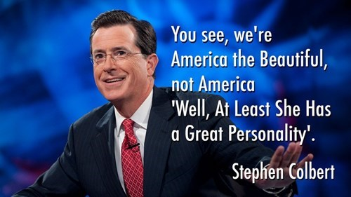 stephen colbert the colbert report america the beautiful - 8267307008