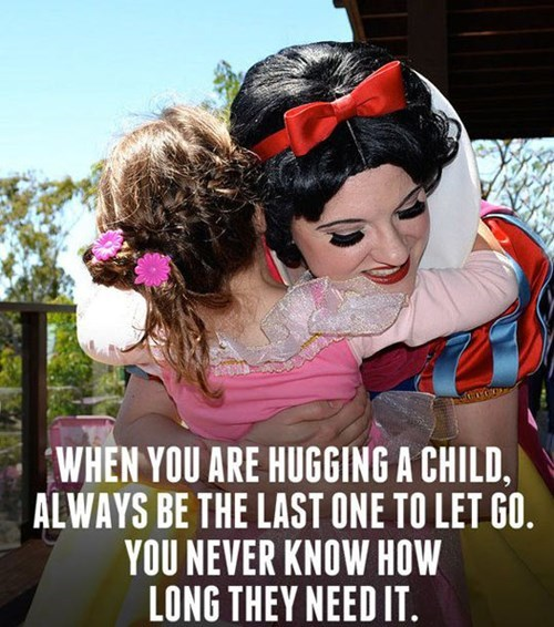 kids hugging parenting