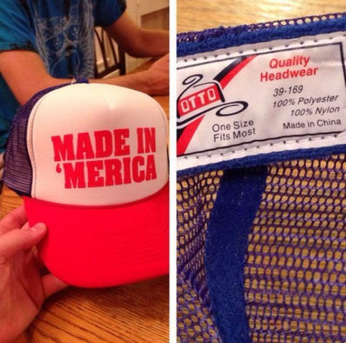 made in china,hats
