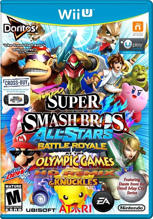 box art,video games,super smash bros