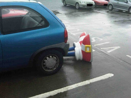 IRL uh oh cars sonic - 8267551488