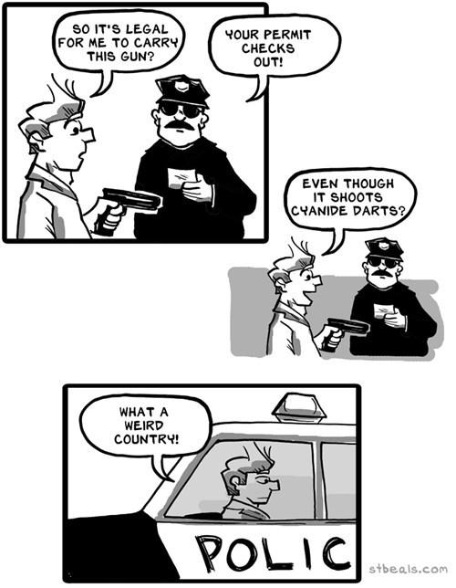 guns laws weird web comics