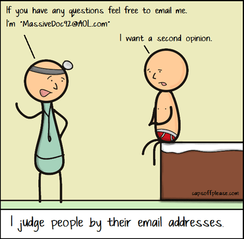 e-mail doctors web comics