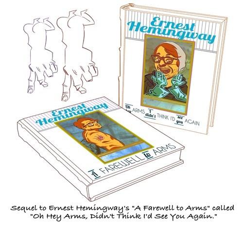 ernest hemingway puns web comics - 8267613440