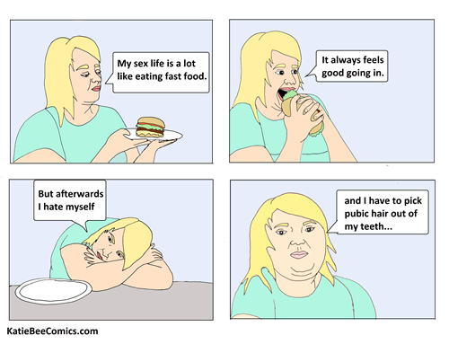 fast food,sexy times,sad but true,web comics