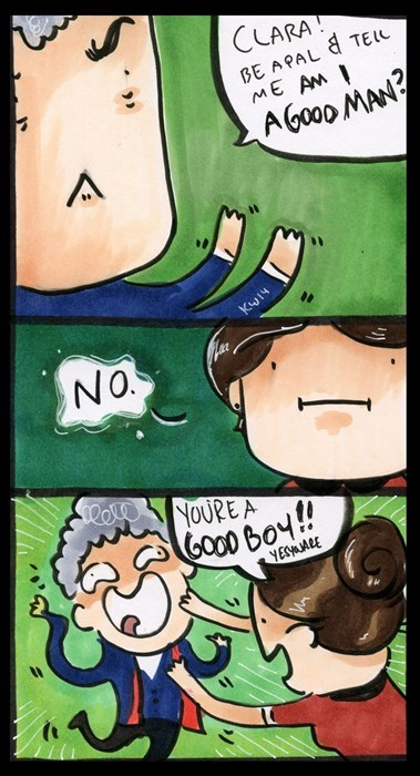 12th Doctor web comics clara oswin oswald - 8267636992