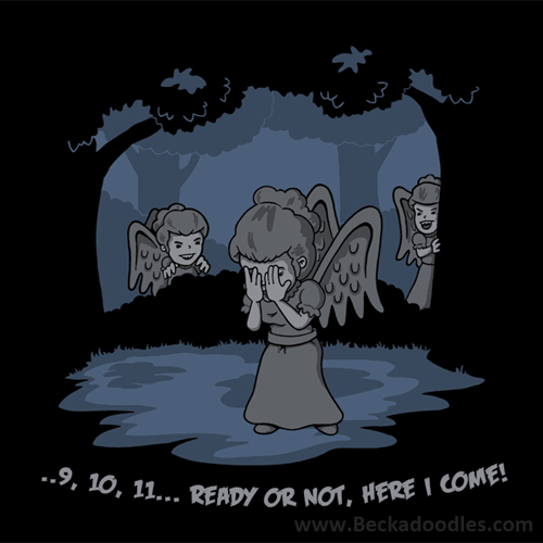 weeping angels dont-blink - 8267646720