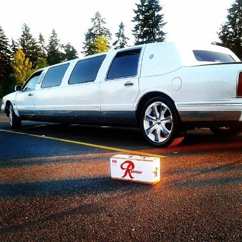 limo beer fancy rainier funny - 8267679744