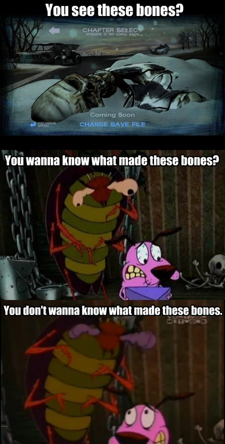courage the cowardly dog The Walking Dead - 8267934208