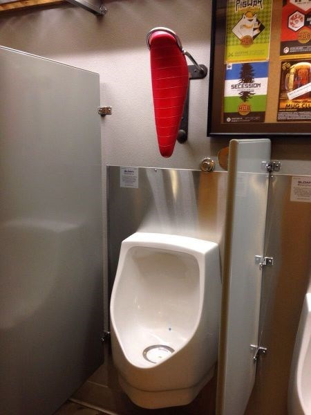 drunk funny urinal head rest after 12 - 8268316928