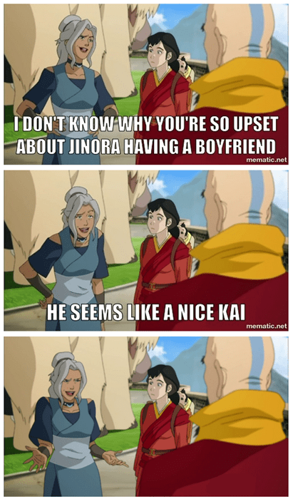 Avatar cartoons korra bad joke kya - 8268610048