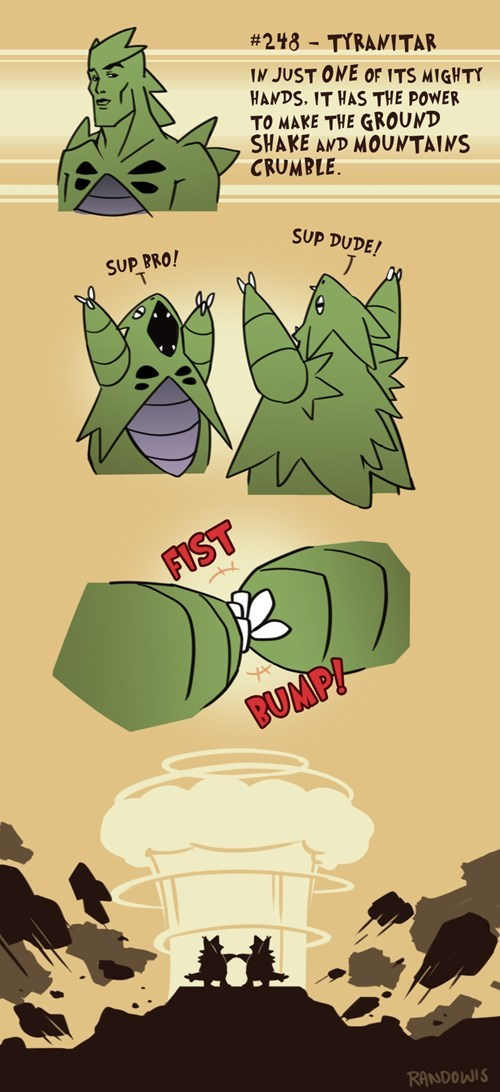 pokedex entries tyranitar web comics - 8268737280