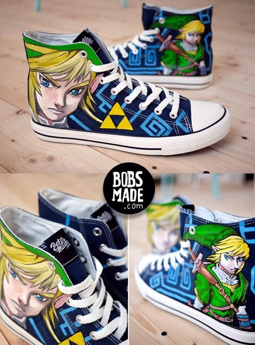 art awesome shoes zelda - 8268747264