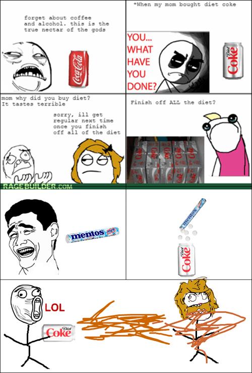Reframe diet coke soda sweet jesus all the things mentos - 8268878336