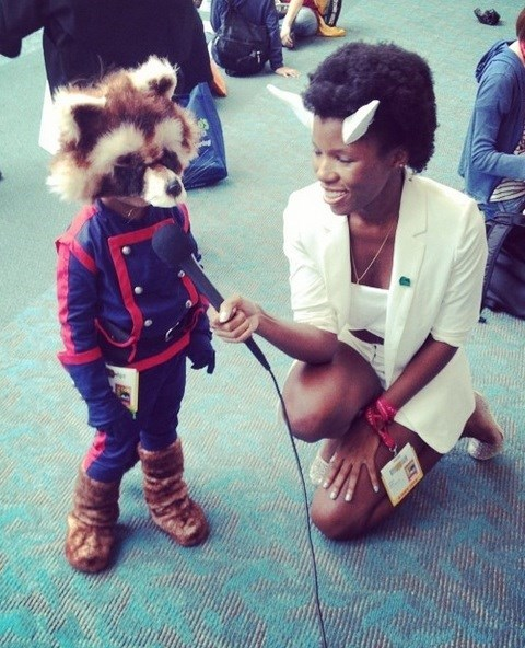cosplay rocket raccoon - 8268898816