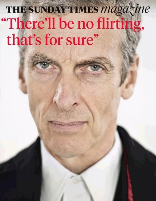12th Doctor flirting Peter Capaldi - 8269014272