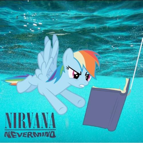 nirvana nevermind rainbow dash - 8269261056