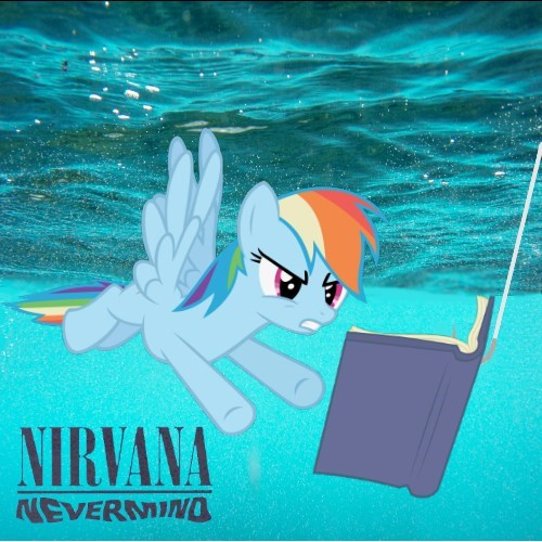 nirvana nevermind rainbow dash - 8269261056