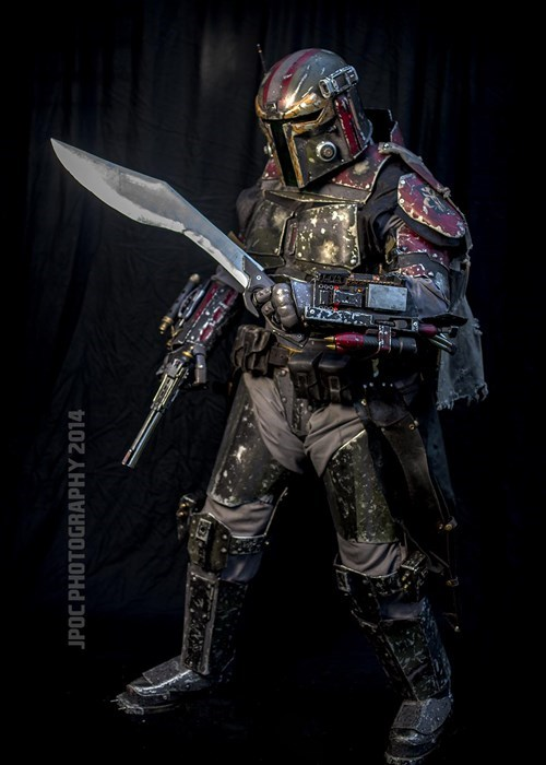 metal cospaly boba fett - 8269446912