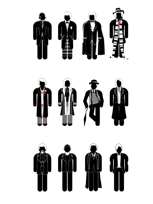 doctor who regeneration infographic - 8269449216