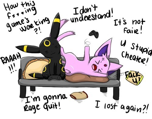 espeon,video games,umbreon