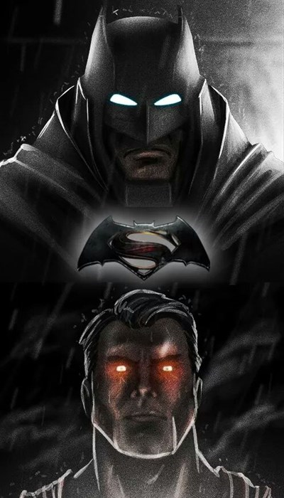 Fan Art Batman v Superman batman superman - 8269857792