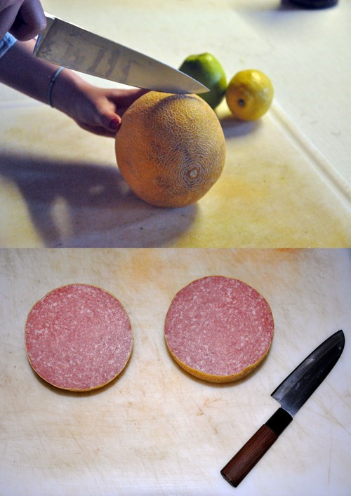 melon,meat