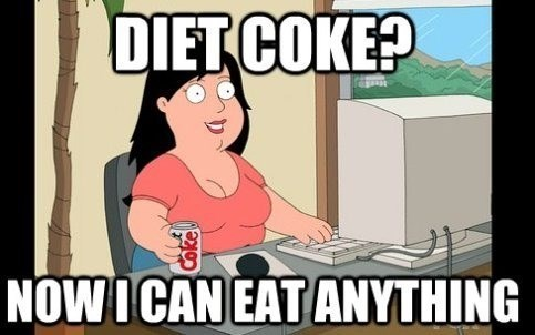 family guy,diet coke,obesity