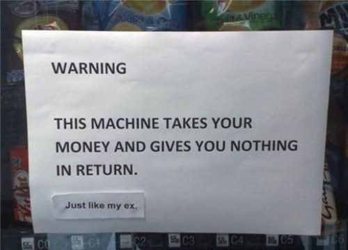 vending machines,relationships,dating