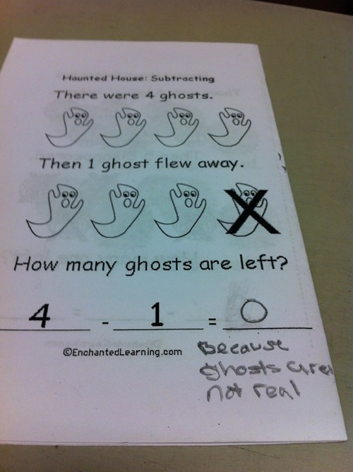kids,tests,ghosts