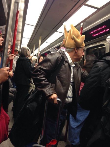 poorly dressed Subway hat fowl - 8270267136