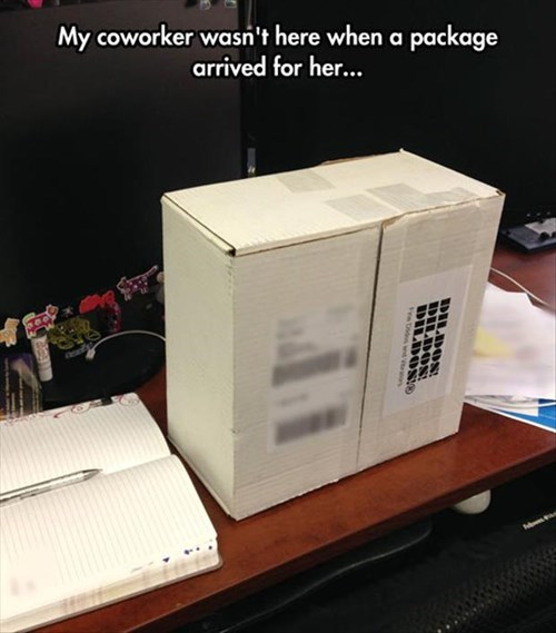monday thru friday package prank coworkers - 8270338816