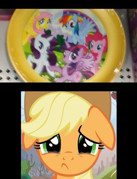 applejack,mane 6,left out