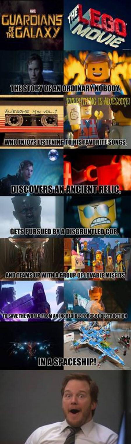 lego movie guardians of the galaxy chris pratt - 8270431744