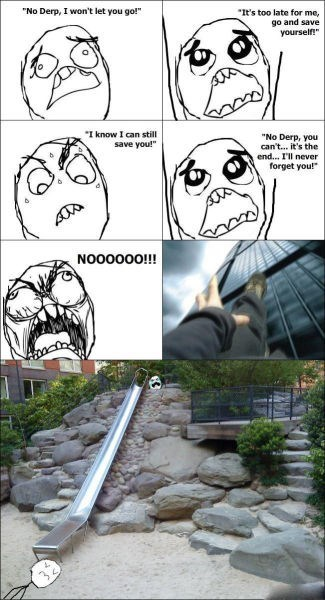rage slide kids playground