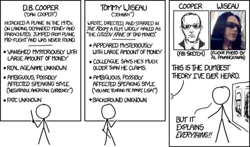 tommy wiseau mistaken identity mysterious information web comics - 8270484480