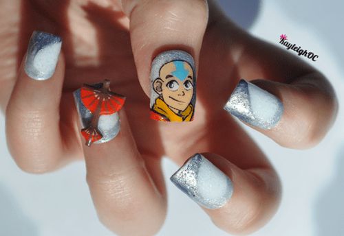 Avatar the Last Airbender Avatar nail art - 8270504704