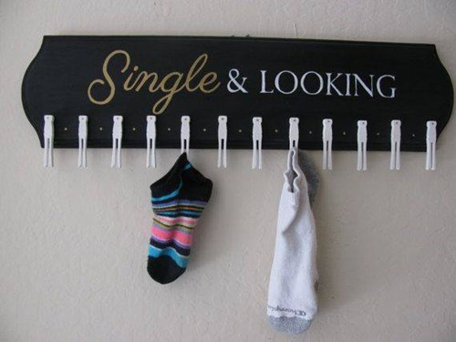 single,socks,looking,funny