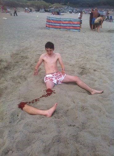 beach,prank,illusion,not what it looks like,win
