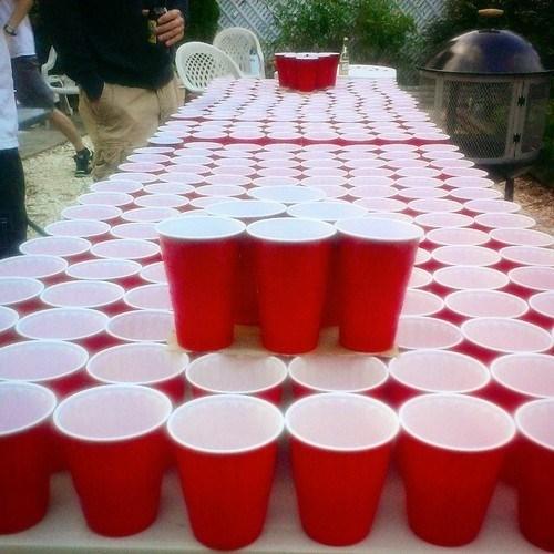 beer cups beer pong funny - 8270585088