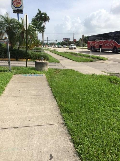 monday thru friday sidewalk