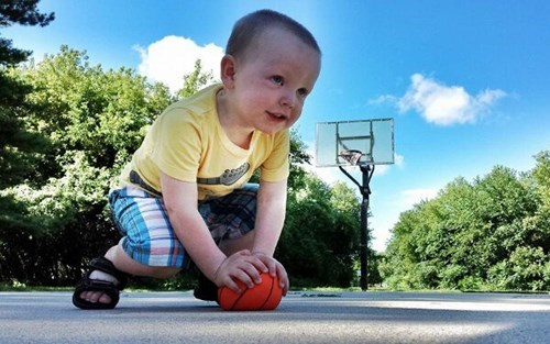 baby photoshop parenting basketball - 8271259904